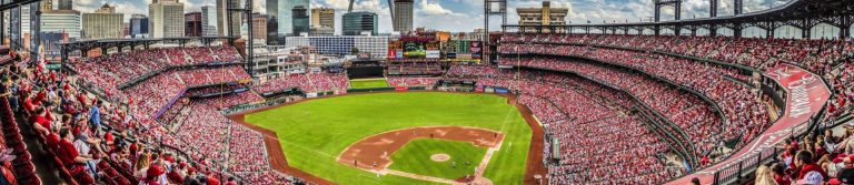 """More about Busch Stadium Feedback People also ask What stadiums have the St Louis Cardinals played in? What can you bring into Busch Stadium 2017? Where do you park at Busch Stadium? When was the new Cardinals baseball stadium built? Feedback Busch Stadium 