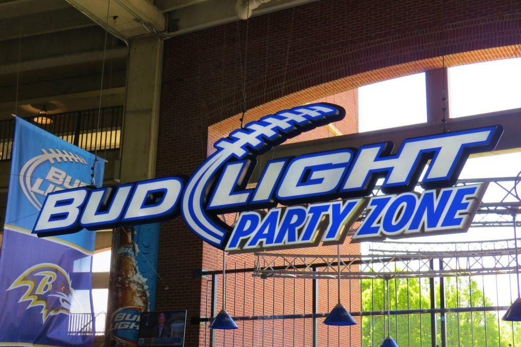 Bud Light Party Zone M&T Bank Stadium