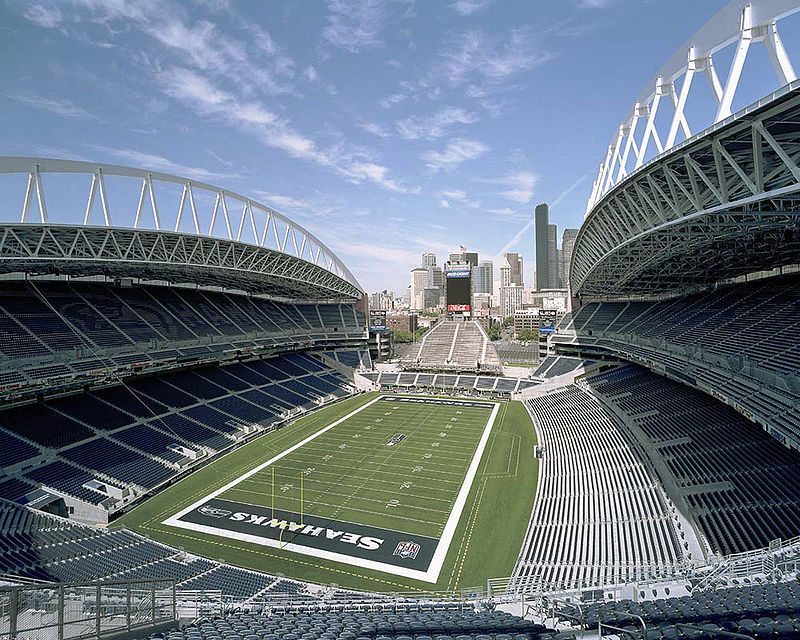 Home of the Seattle Seahawks CenturyLink Field