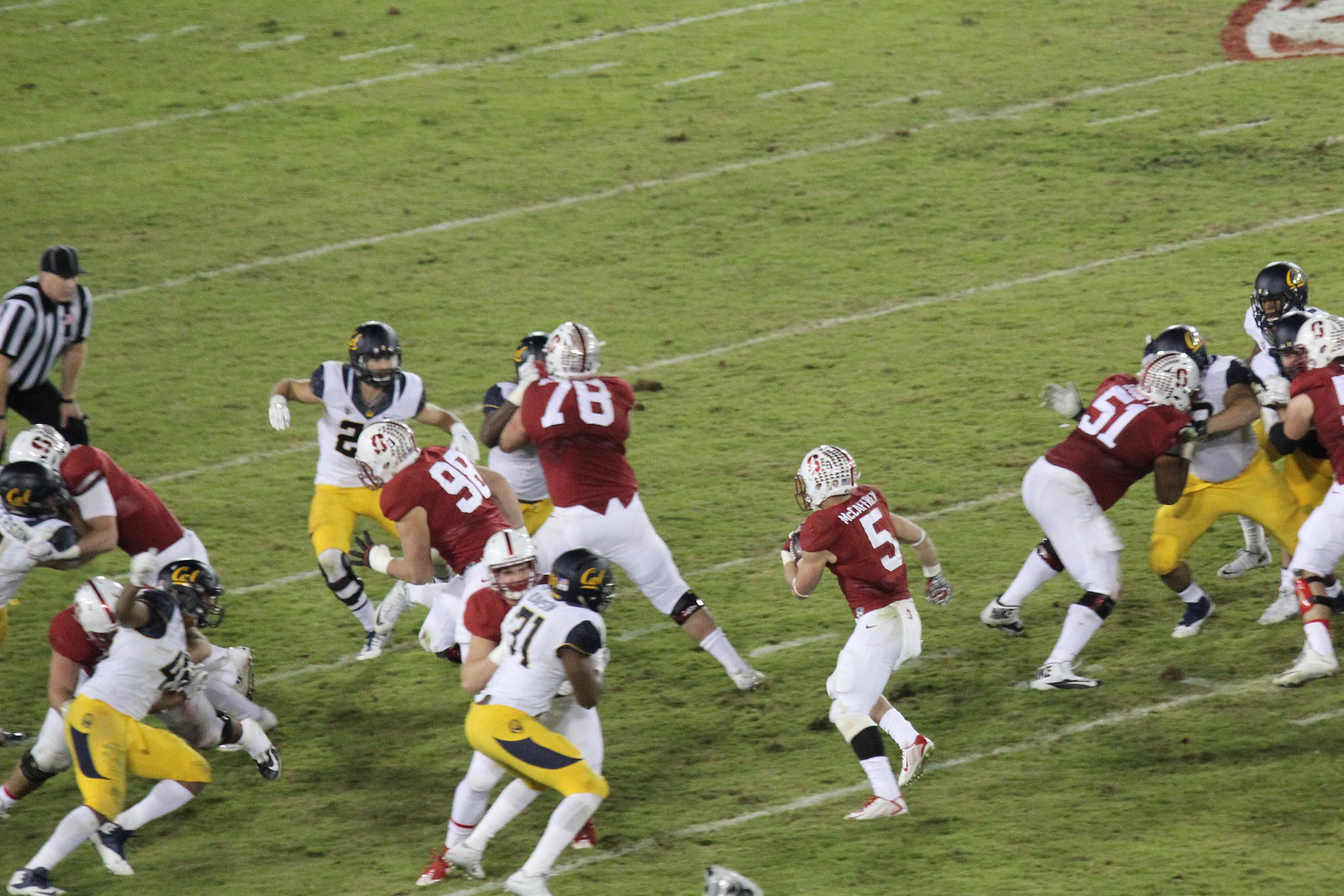 Stanford Cardinal football game