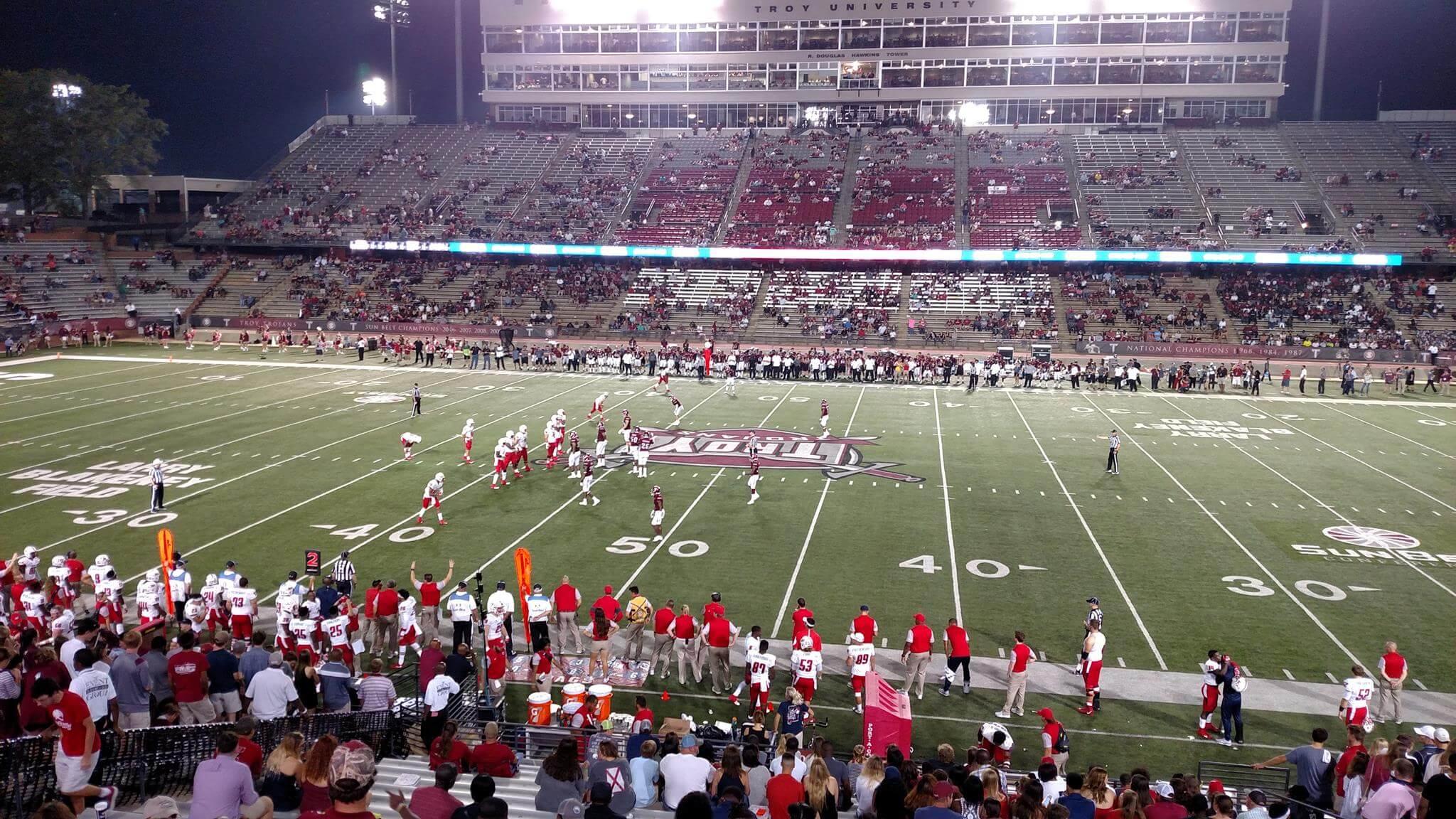 Troy Trojans South Alabama Jaguars football