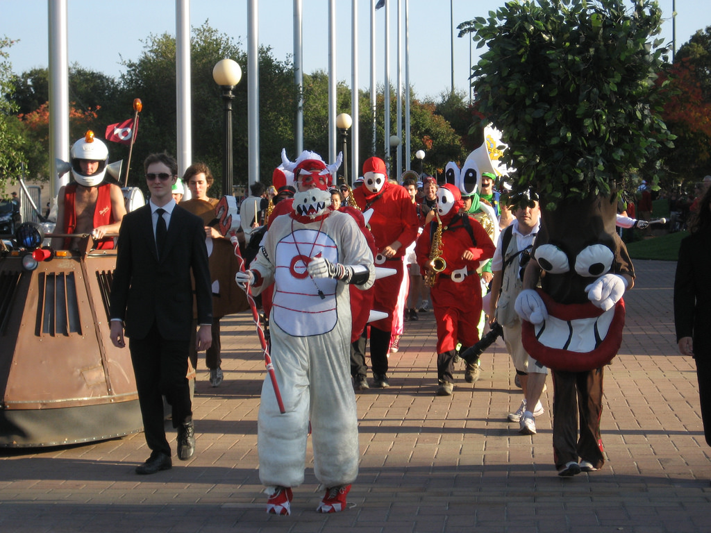 Stanford Marching Band Tree mascot