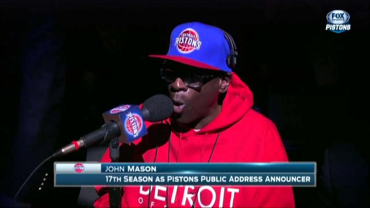 Pistons John Mason
