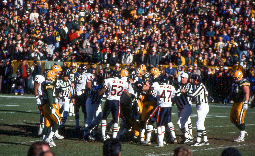 Chicago Bears Green Bay Packers Rivalry