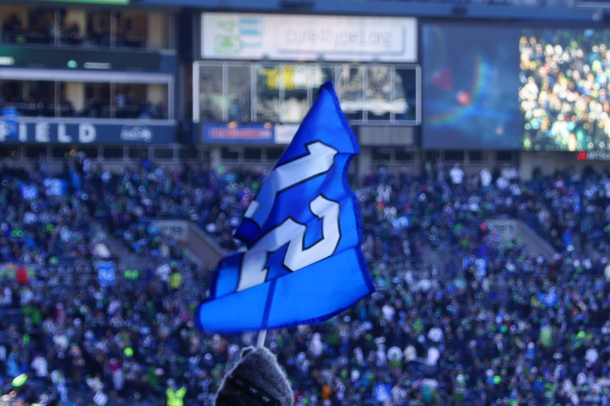 The 12s Flag tradition Seattle Seahawks fans