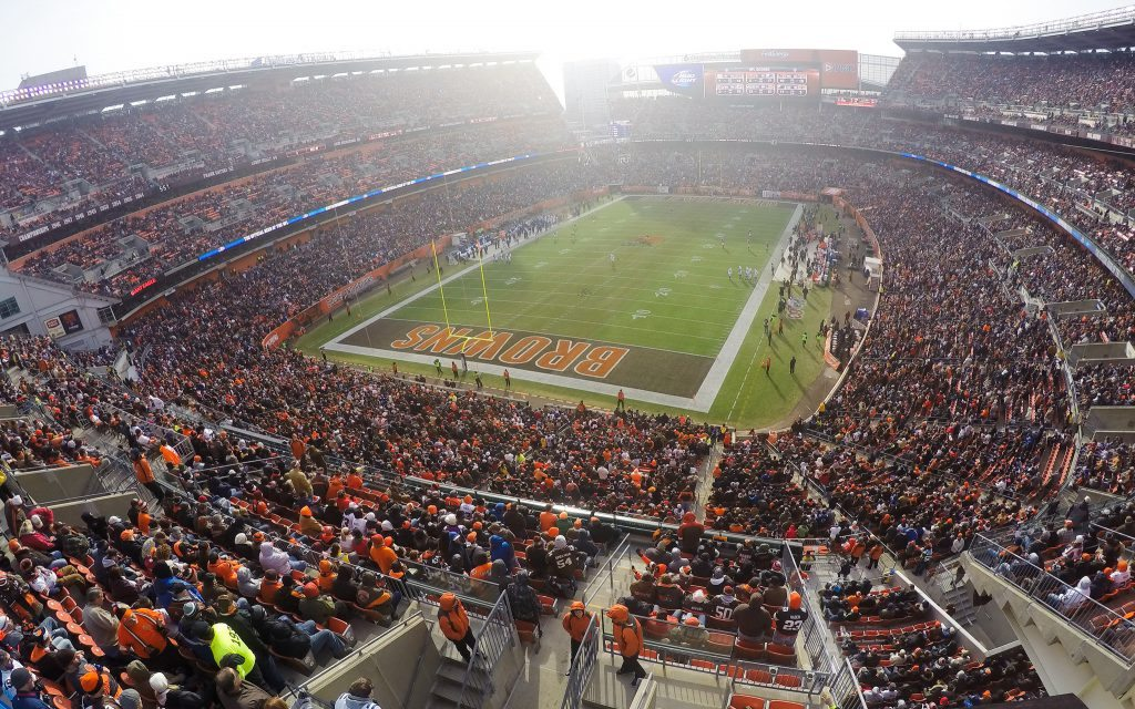 Cleveland Browns Ring of Honor FirstEnergy Stadium