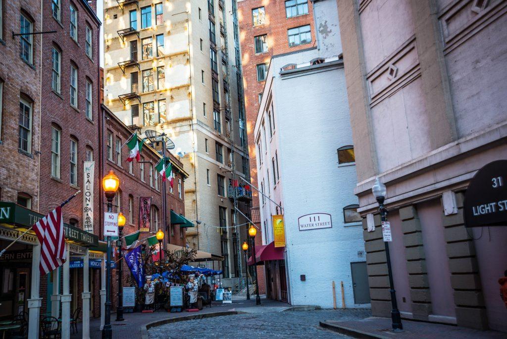 Water Street Bars Baltimore