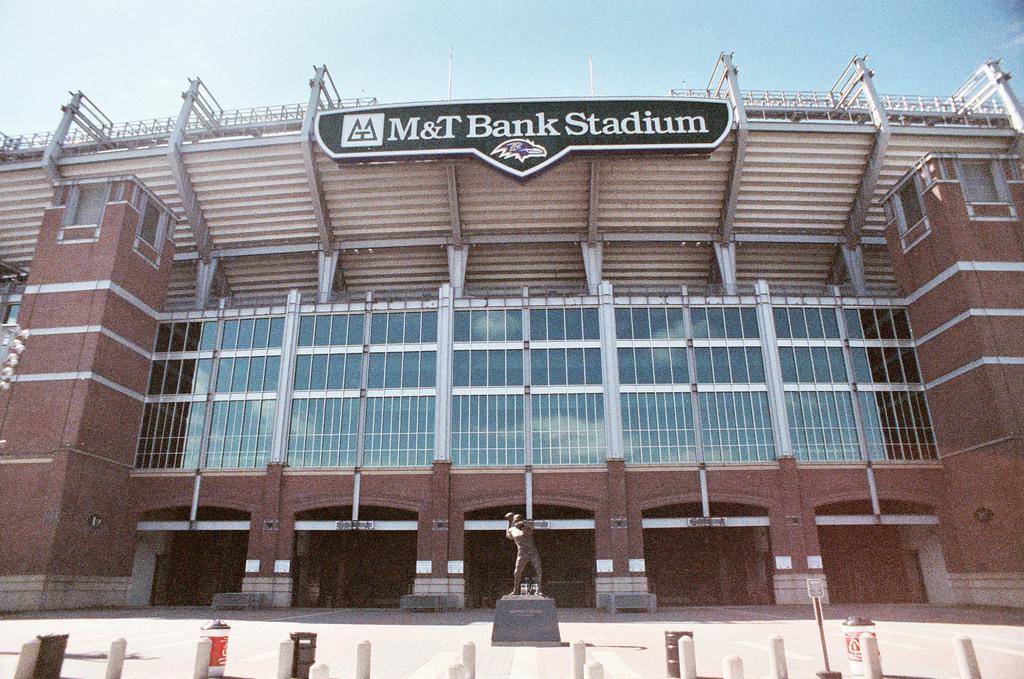 Baltimore Ravens Unitas Plaza M&T Bank Stadium