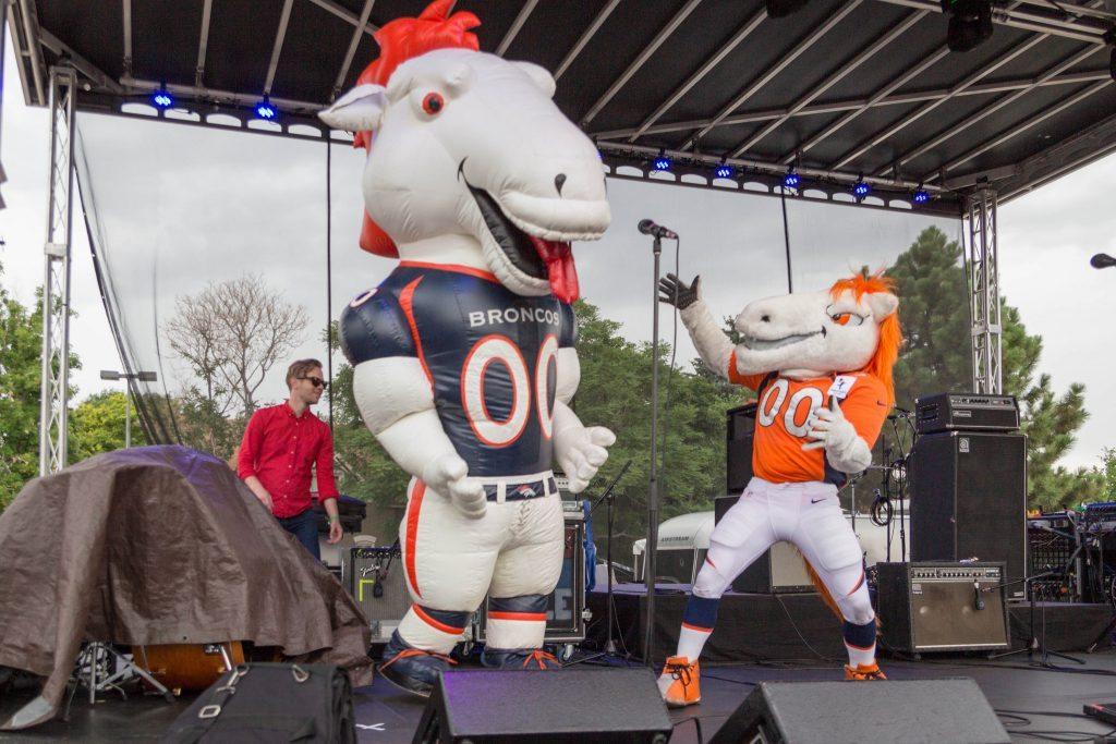Miles Denver Broncos mascot