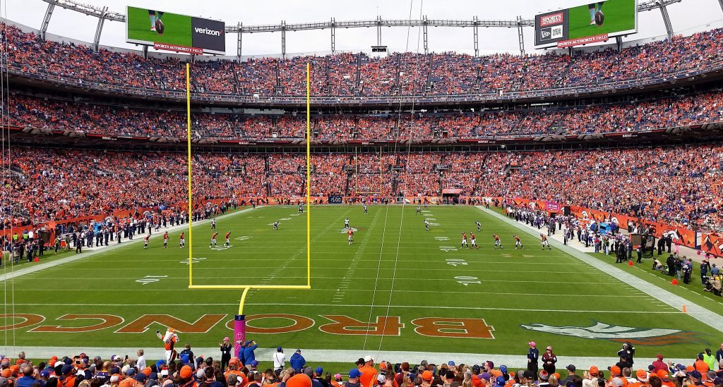 The Ring of Fame in Empower Field at Mile High honors Broncos greats of the past