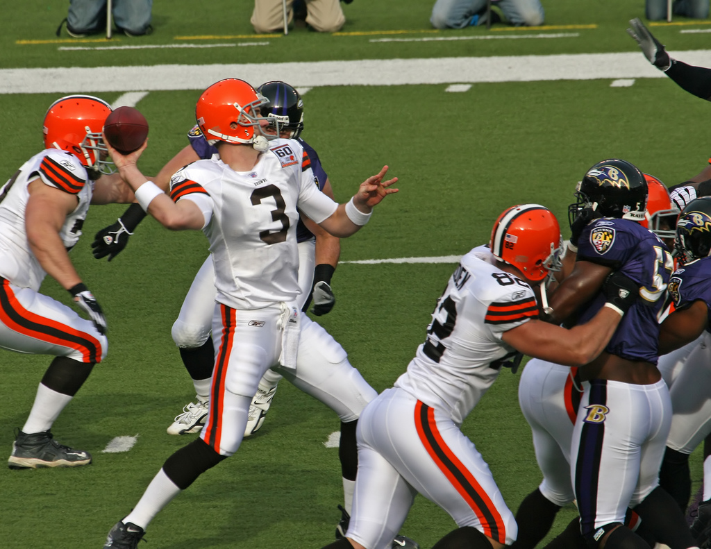 Cleveland Browns Baltimore Ravens Rivalry