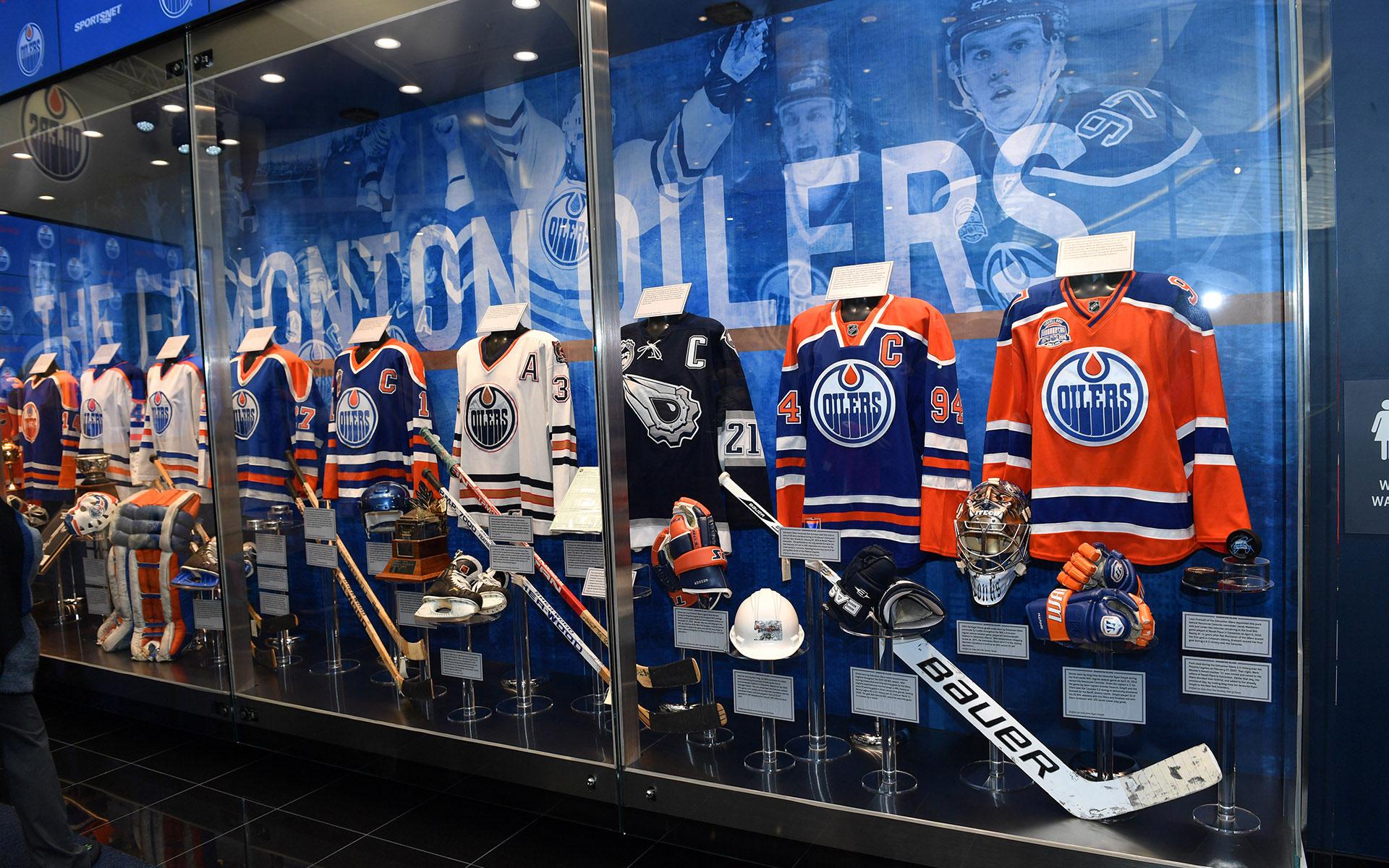 Oilers Hall of Fame