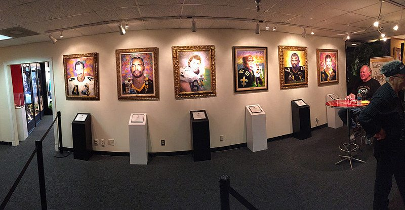 New Orleans Saints Hall of Fame at Mercedes Benz Superdome