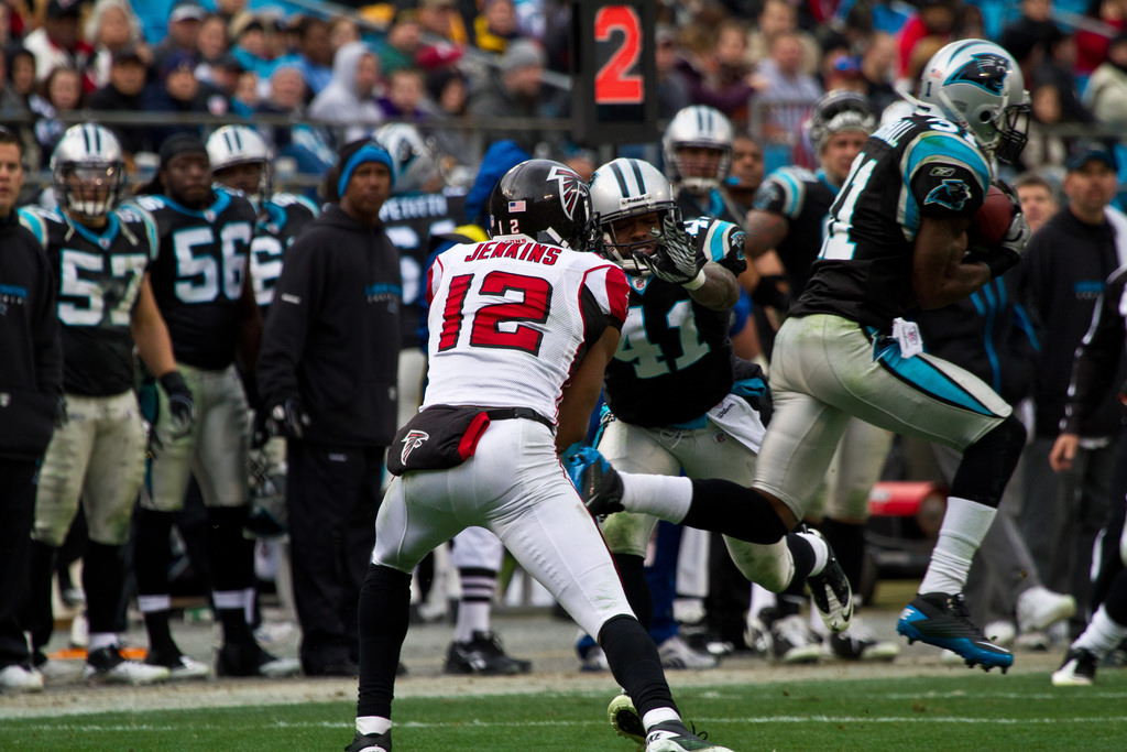 Carolina  Panthers Atlanta Falcons Rivalry