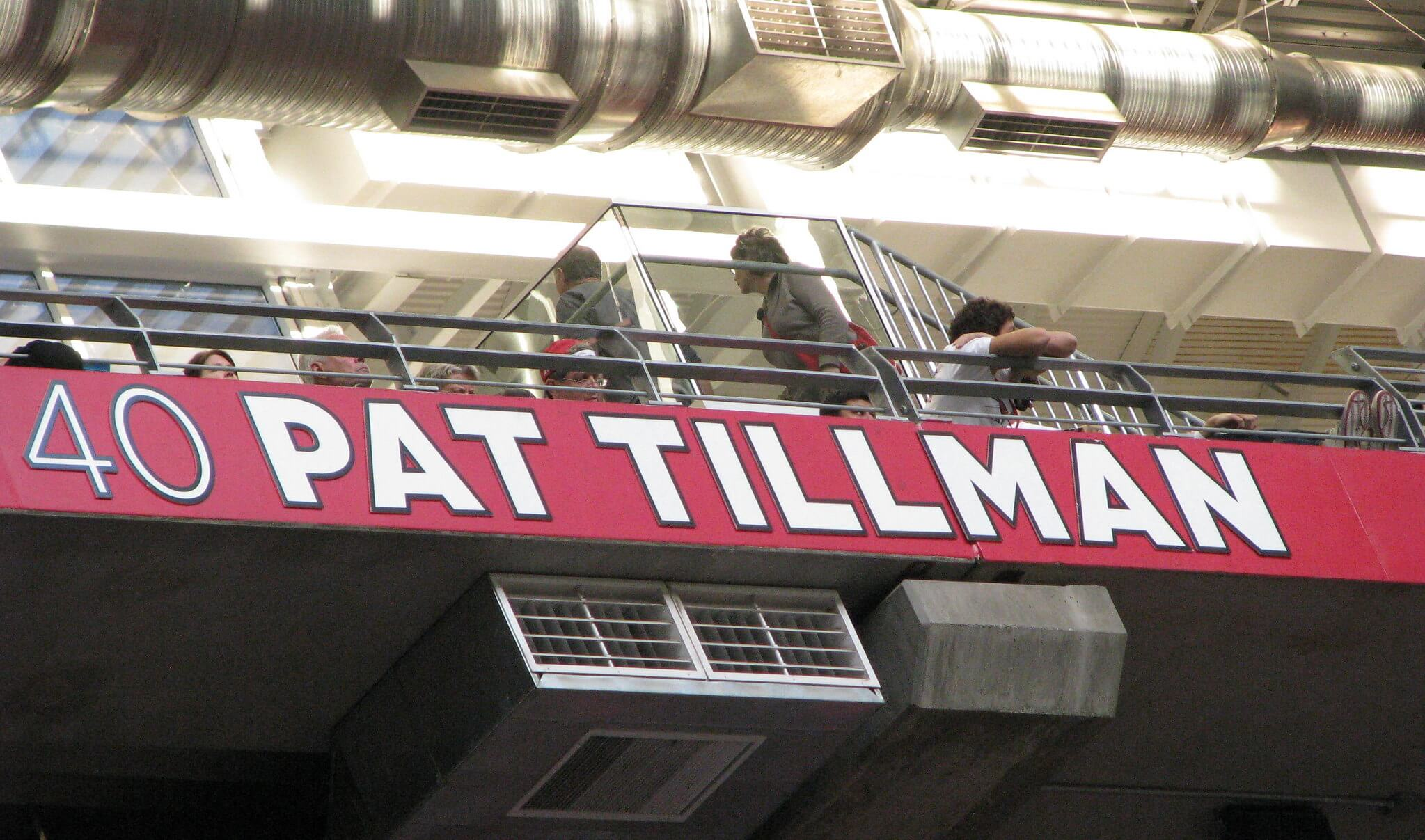 The Cardinals Hall of Fame Ring of Honor Pat Tillman