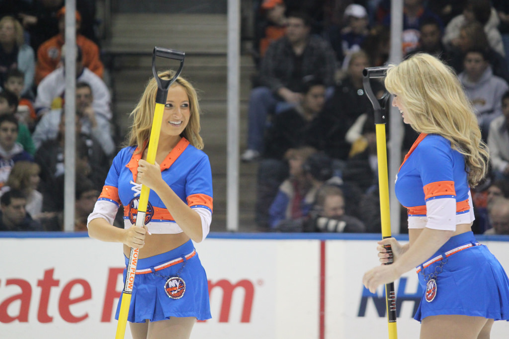 Islanders Ice Girls
