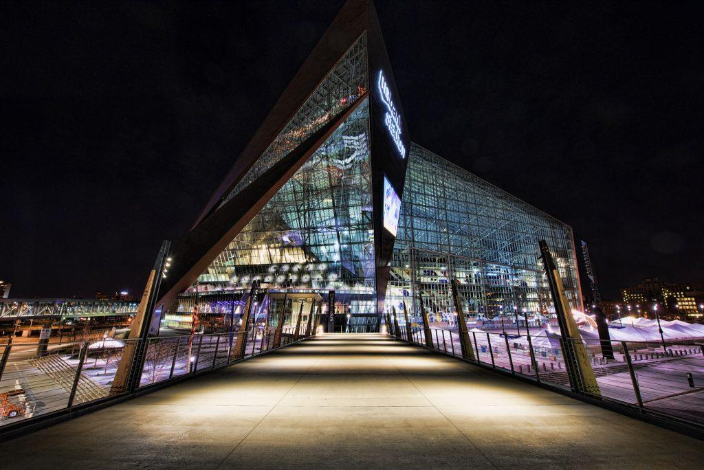 Home of Minnesota Vikings US Bank Stadium
