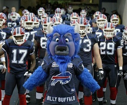 Billy Buffalo Bills mascot
