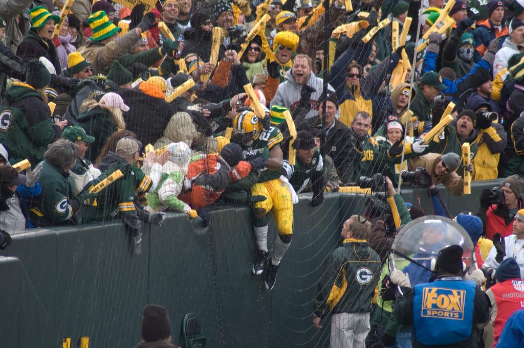 Green Bay Packers Lambeau Leap tradition
