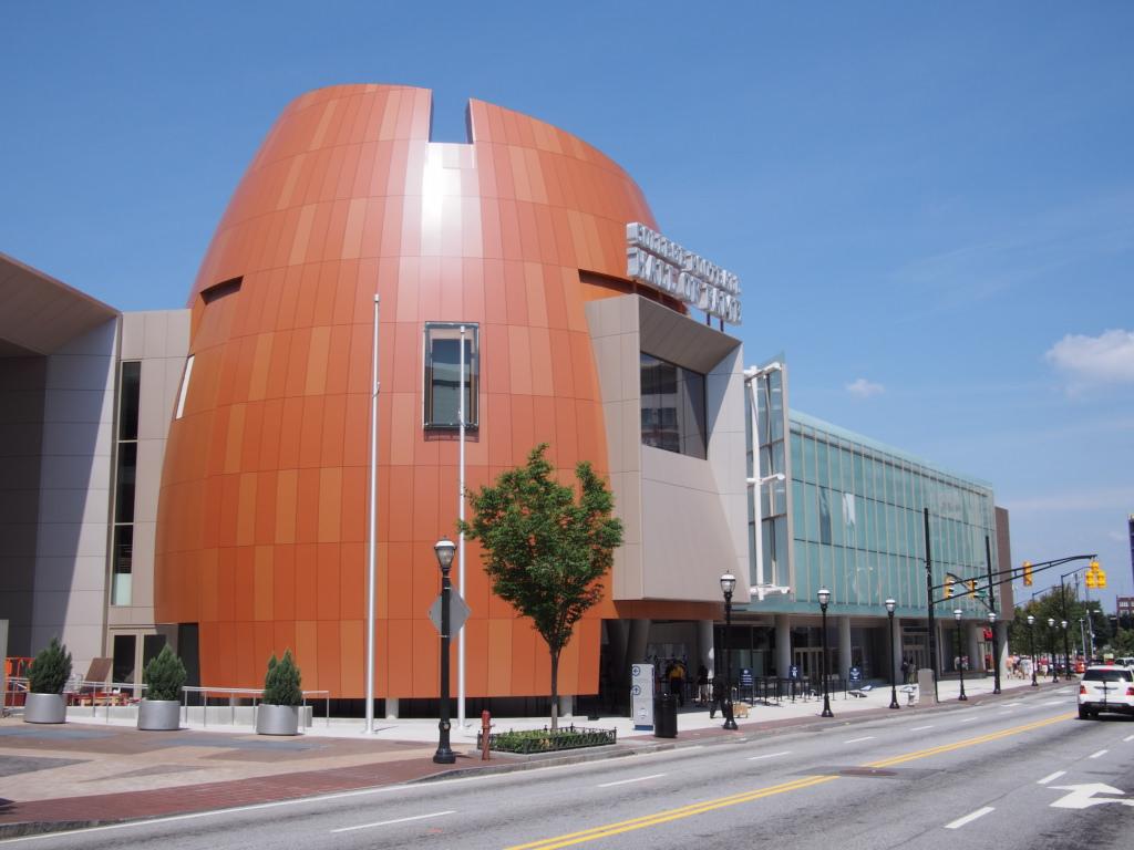 College Football Hall of Fame Mercedes Benz Stadium
