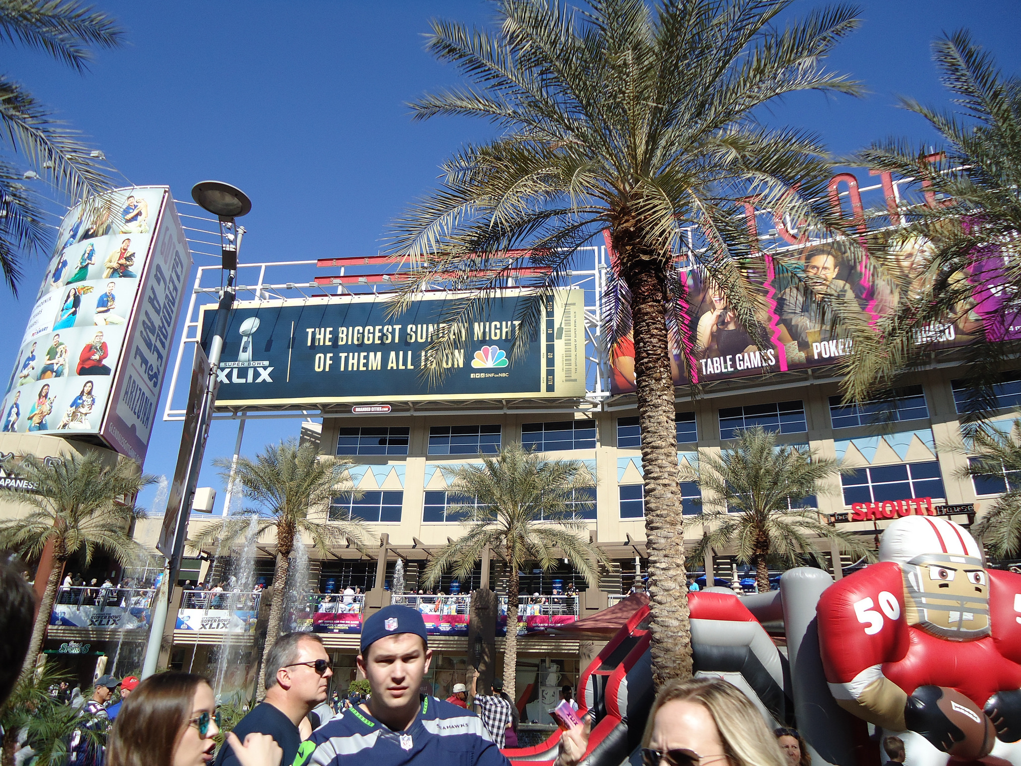 Arizona Cardinals Preflight Party Westgate Entertainment District