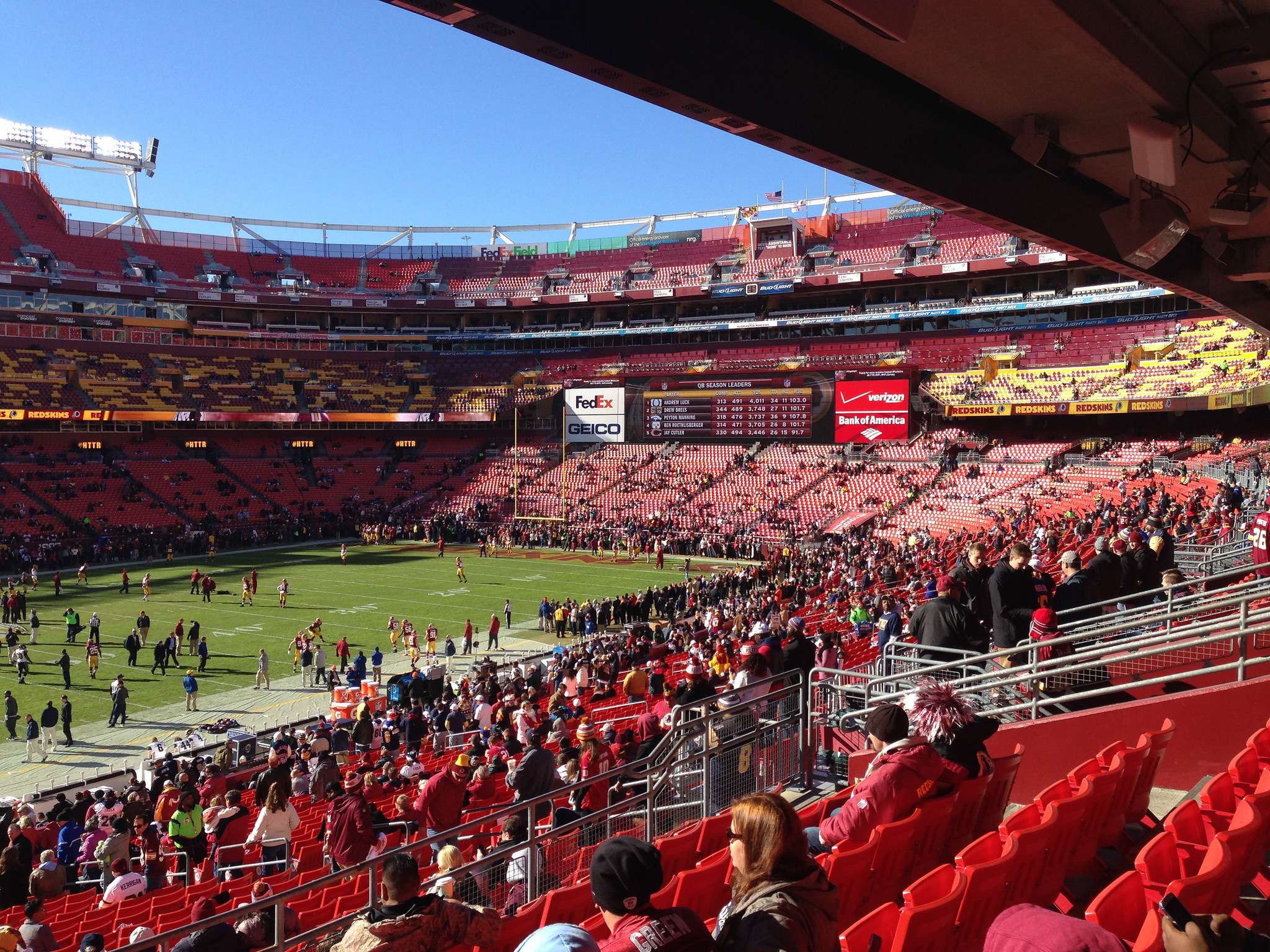 Home of the Washington Redskins FedEx Field