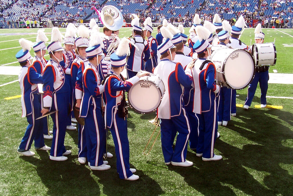 Buffalo Bills Marching band