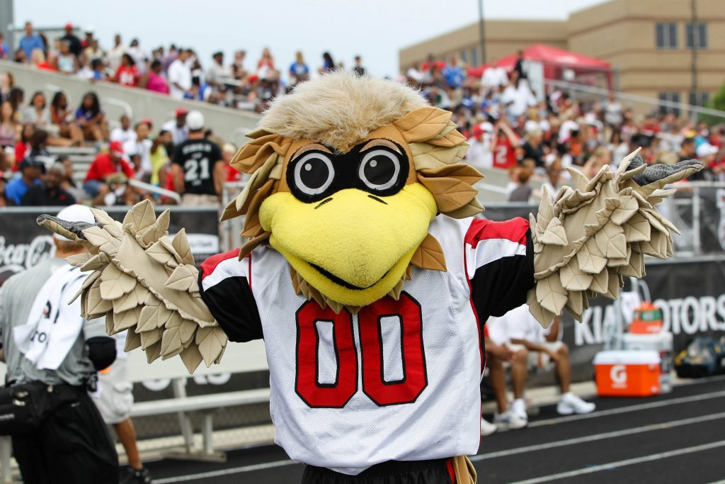 Freddie Falcon Atlanta Falcons mascot