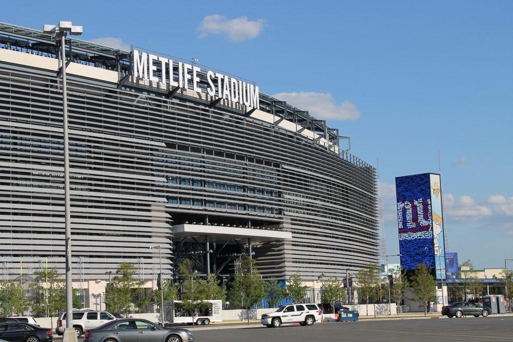 home of the New York Giants MetLife Stadium
