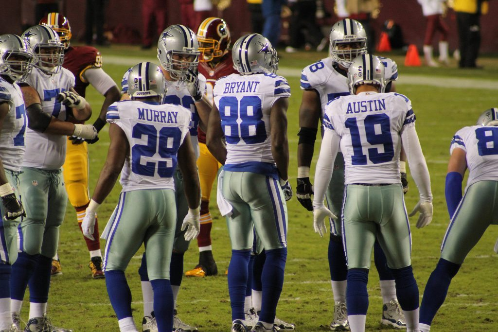 Dallas Cowboys wear white jerseys at home for every game