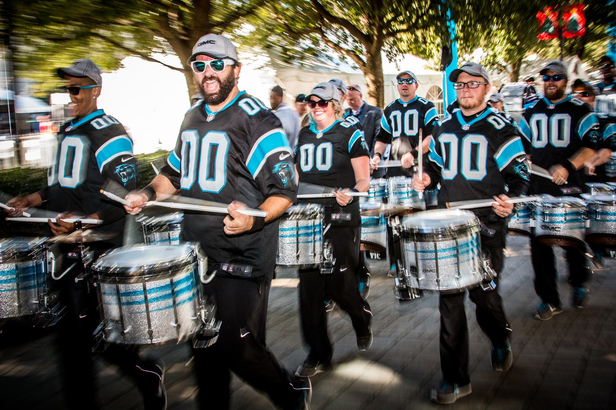 Carolina Panthers drumline