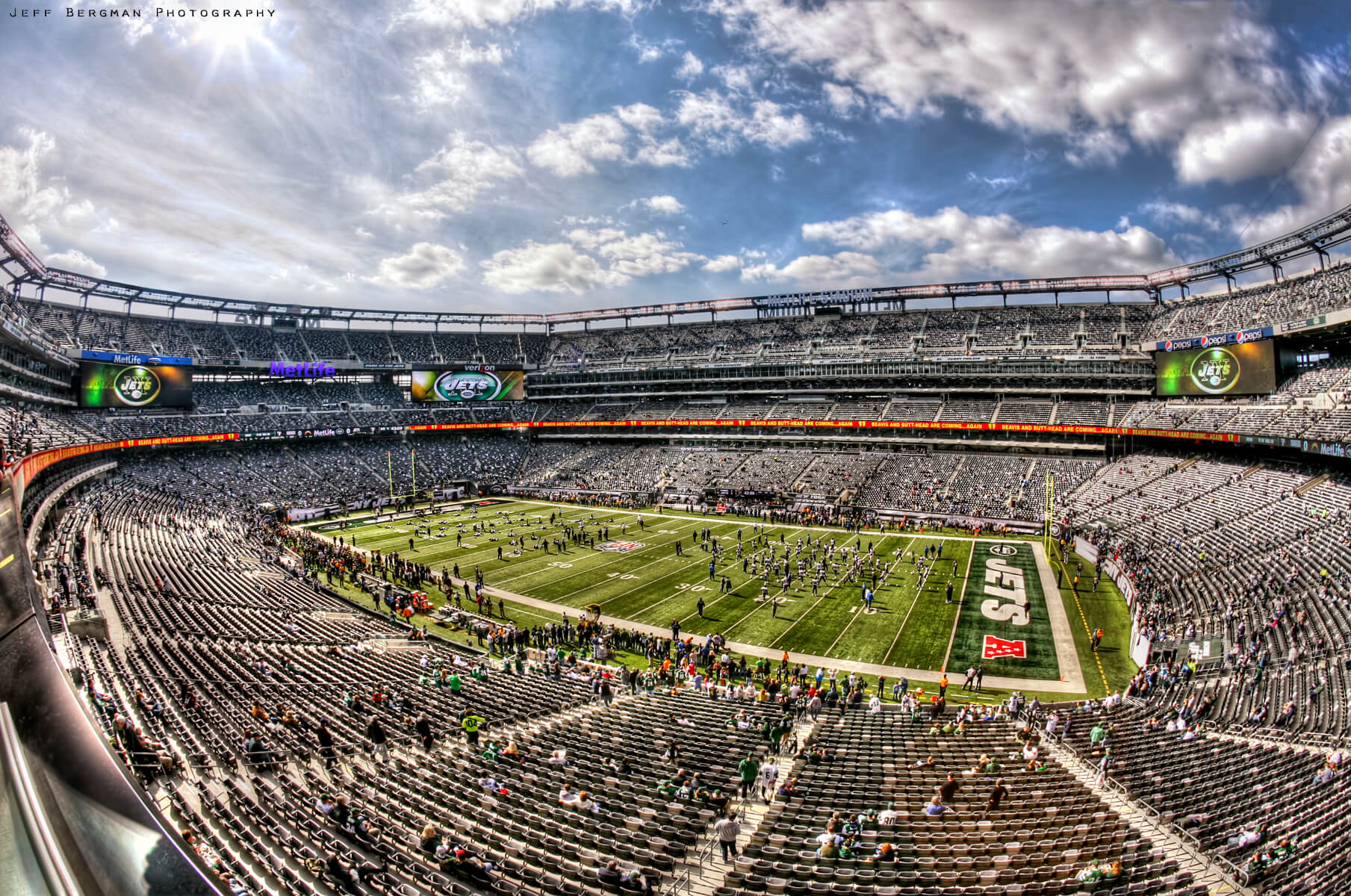 Home of the New York Jets MetLife Stadium