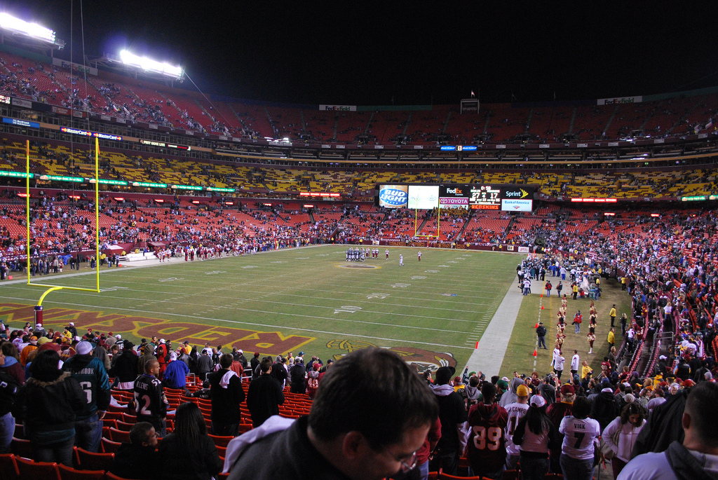 NFL Home of the Washington Redskins FedEx Field