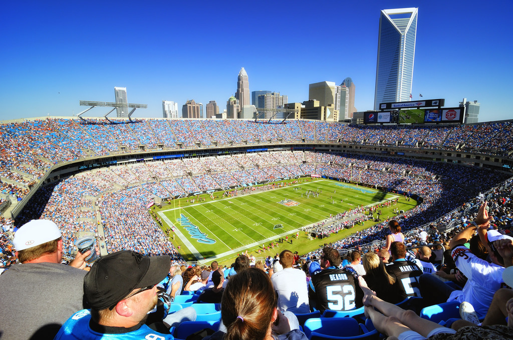 Bank of America Stadium Carolina Panthers