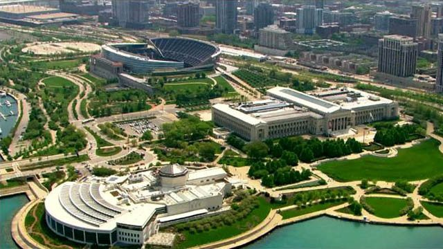 Chicago Bears Museum Campus