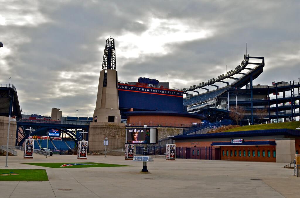New England Patriots Patriot Place Gillette Stadium