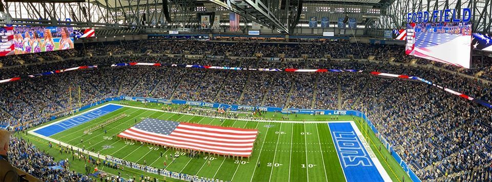 Detroit Lions Ring of Honor at Ford Field