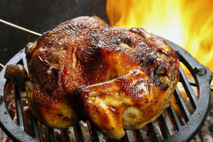 Grilled Tailgate Turkey
