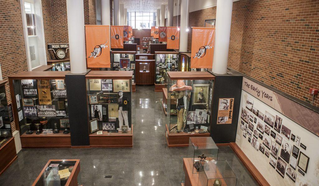 OSU Cowboys heritage hall