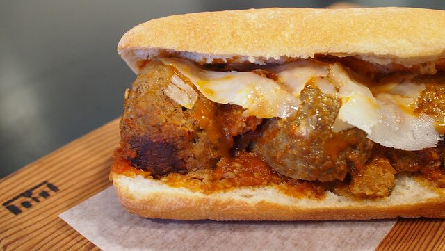 Meatball Sandwich
