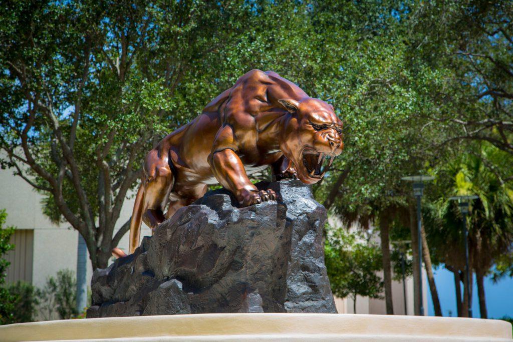 FIU Panthers statue