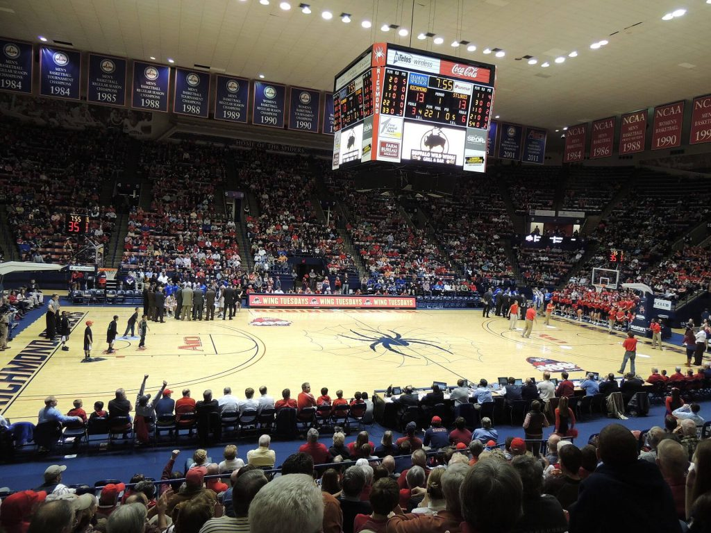 Robins Center banners