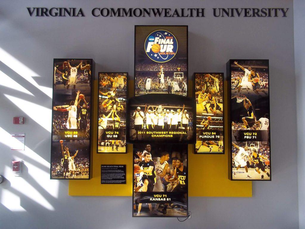 Siegel Center Final Four Display