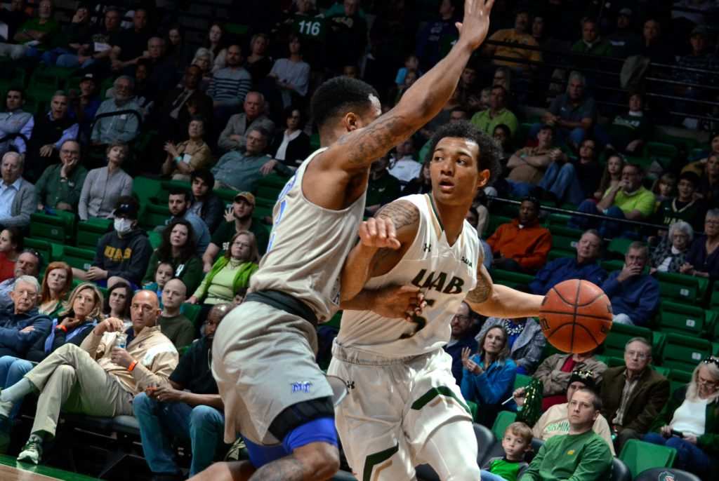 MTSU vs UAB Basketball