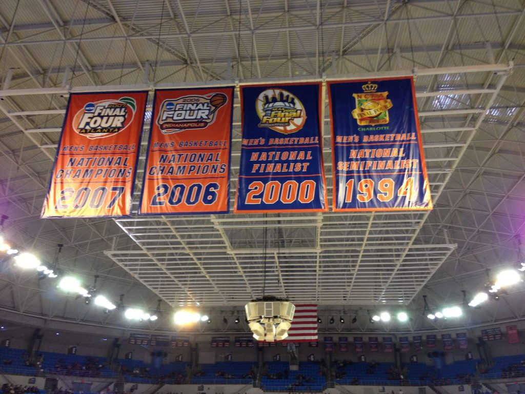 Florida Gators basketball banners