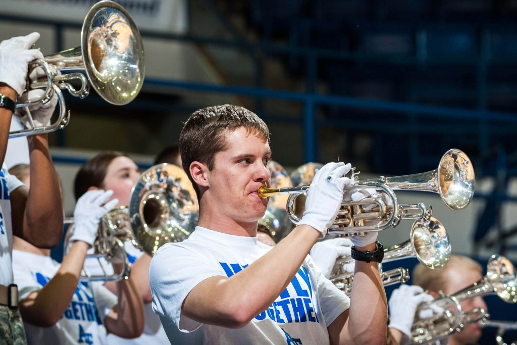Air Force basketball band