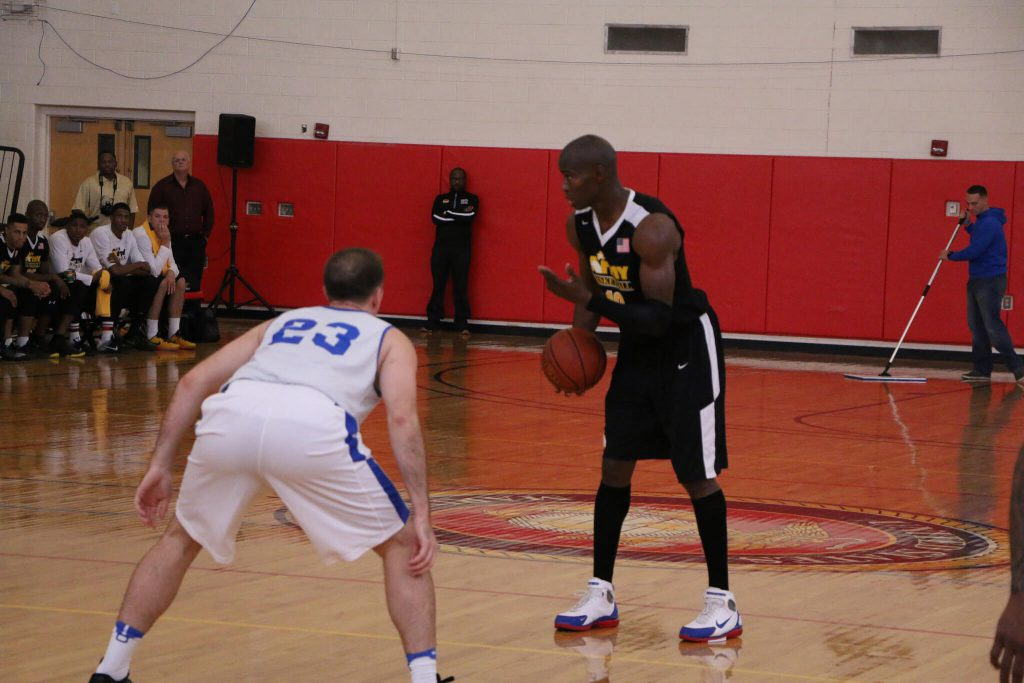 Army vs Air Force basketball