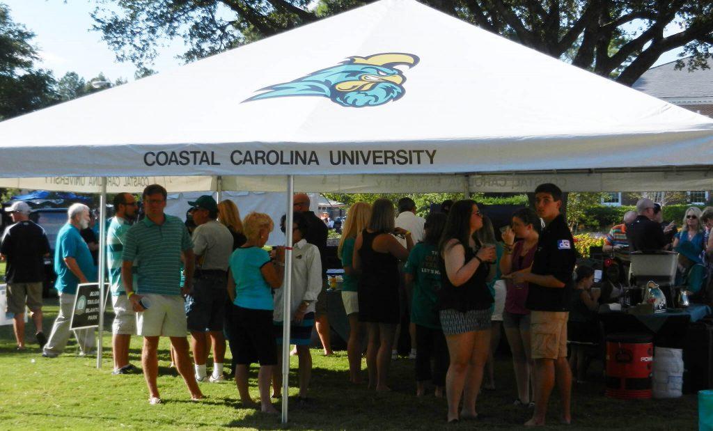 CCU Coastal Carolina Chanticleers tailgate