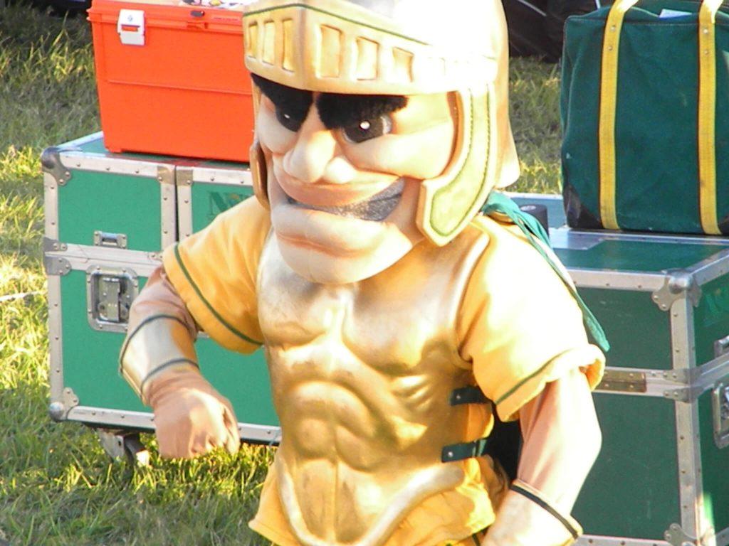 Norfolk State Spartans mascot Spartan
