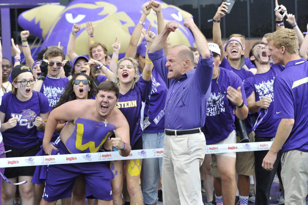 Western Carolina Catamounts fans